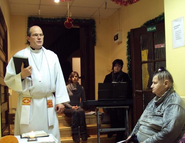 Dievkalpojums Cesvaines sociālās aprūpes centrā