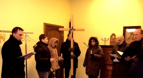 Ekumēniskais krusta ceļš baznīcā